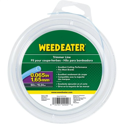 """Weed Eater Trimmer Lines .065"""" x 50' Round Trimmer Line"""