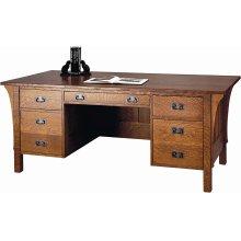 Oak Executive Desk