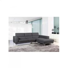 Materia: Foam - Fabric High Quality - Chair Color: (grey)