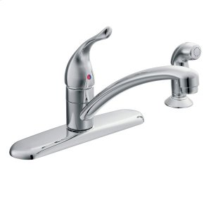 Chateau chrome one-handle kitchen faucet Product Image