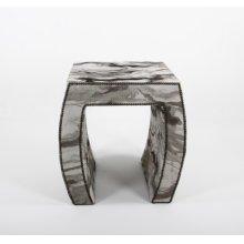 Upholstered Side table