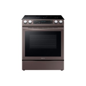 5.8 cu. ft. Slide-In Electric Range in Tuscan Stainless Steel Product Image