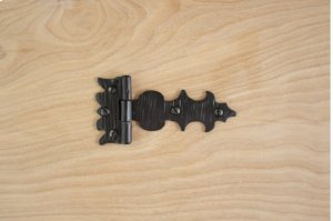 "Black 4"" Furniture Hinge 772832CH Product Image"