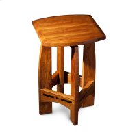 "Aspen Swivel Barstool with Inlay, No Back, Aspen Swivel Barstool with Inlay, No Back, 30"" Product Image"