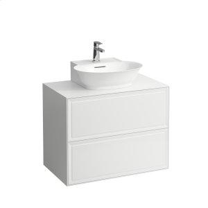 Traffic Grey Drawer element 800, 2 drawers, matches small washbasin 816852 Product Image