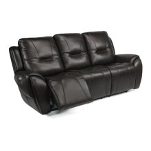 Trip Leather Power Reclining Sofa with Power Headrests