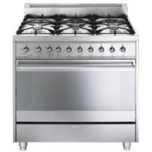 Free-Standing Gas Range, 36 , Stainless Steel