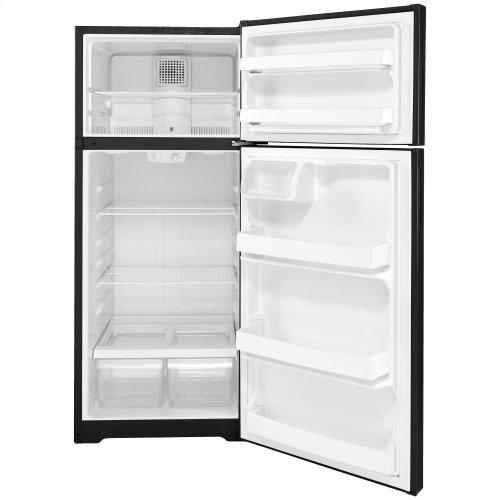 Hotpoint® 17.5 Cu. Ft. Recessed Handle Top-Freezer Refrigerator