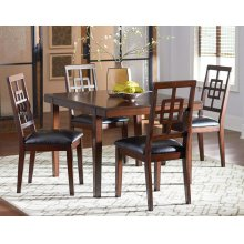 Standard Furniture 13260 Ally Dining Table Aztec Houston Texas
