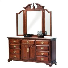 "Victoria's Tradition 72"" Dresser- Tri Mirror"