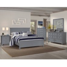 Tamarack Gray California King Bed