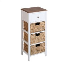 Pismo Beach 3-basket 1-drawer Accent Table
