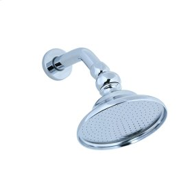 Sprinkling Can Showerhead, Arm & Flange - Aged Brass