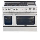 "48"" eight Sealed Burner, all gas, manual clean range, Liquid Propane Product Image"