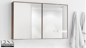 Mirrored Cabinet The Frame Collection Product Image