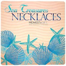 Sea Treasures Necklaces Sign.