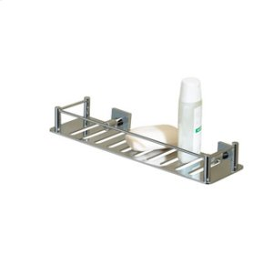 Essentials Rectangular Shower Shelf, Braga Backplate Product Image