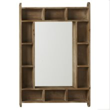 Rectangle Cubby Mirror