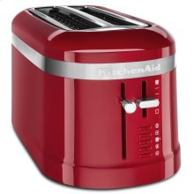 4 Slice Long Slot Toaster with High-Lift Lever - Empire Red