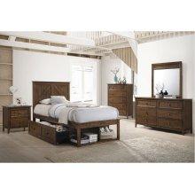 3015 Ashland Twin Bed with Dresser & Mirror
