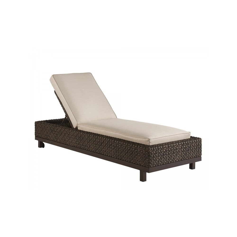 Epicenters Brentwood Outdoor Wicker Chaise Lounge