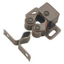 1 In. Statuary Bronze Double Roller Catch