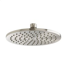 Slim Round 8 Inch Showerhead - Brushed Nickel