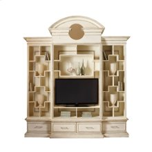 Nassau Home Theatre with Antique Mirror Back