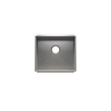 """UrbanEdge® 003604 - undermount stainless steel Kitchen sink , 18"""" × 16"""" × 8"""""""