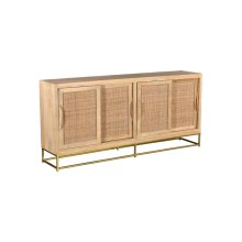 Bengal Manor Natural Cane Sideboard