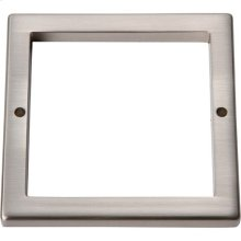Tableau Square Base 3 Inch - Brushed Nickel