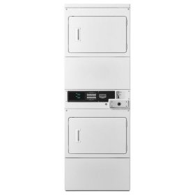 Maytag® Commercial Single Load, Super Capacity Stack Dryer - White