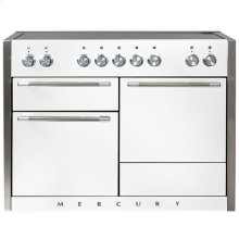 AGA Mercury 48 Induction White with Chrome trim