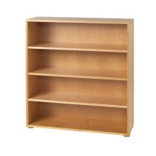 4 Shelf Bookcase : Natural
