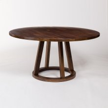 "Mendocino 84"" Round Dining Table"