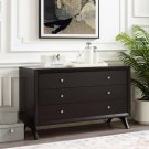 Providence Three-Drawer Dresser or Stand in Cappuccino Product Image