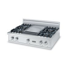 "36"" 5 Series Gas Rangetop, Propane Gas"