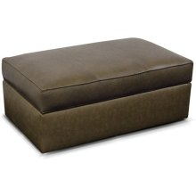 Leather Lachlan Cocktail Ottoman 24081AL
