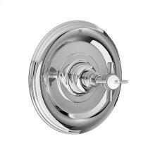 Landfair Pressure Balanced Shower Trim with Cross Handle - Polished Chrome