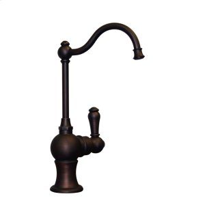 Point of Use cold drinking water faucet with a traditional spout. Product Image