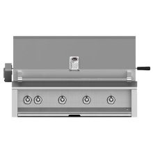 "Grill, Built-in, (4) U-burner, Rotisserie, 42"" -lp"