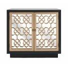Chloe Mirrored-Door Cabinet Product Image