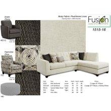 Plush Tones Linen- 2 Piece Sectional