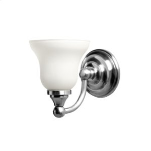 Kingston Single Wall Light With Frosted Glass Shade Product Image