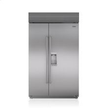 "48"" Classic Side-by-Side Refrigerator/Freezer with Dispenser"