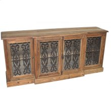 Iron Door Reclaimed Pine Buffet