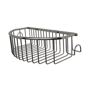 Essentials Curved Basket With Hooks Product Image