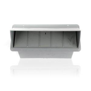 """Surface Wall Cap Damper - 3-1/4"""" x 10"""""""