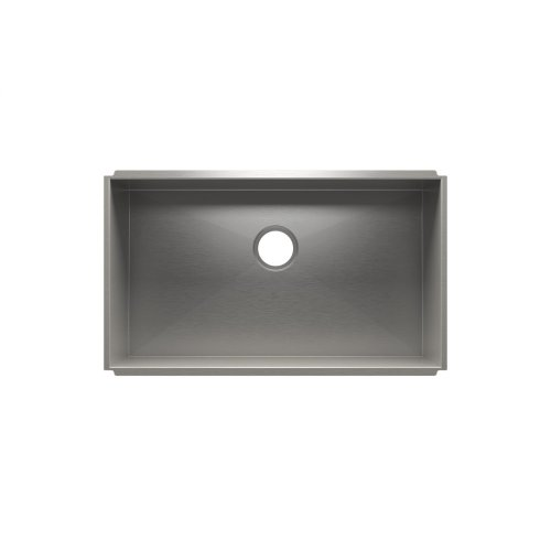 "UrbanEdge® 003667 - undermount stainless steel Kitchen sink , 30"" × 17"" × 10"""