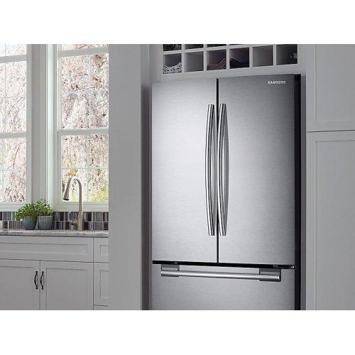 20 cu. ft. French Door Refrigerator in Stainless Steel